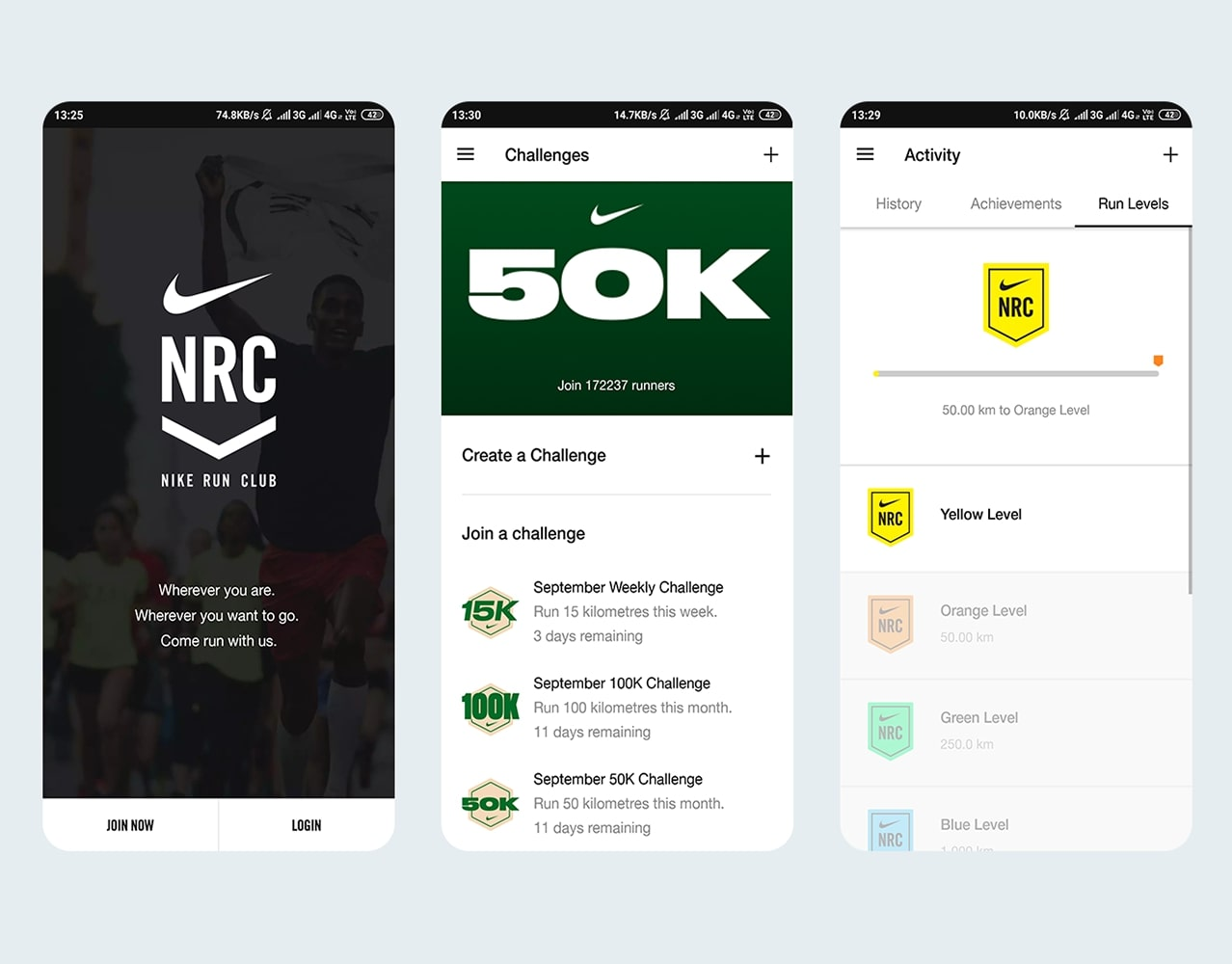 Nike Run Club- Gamification
